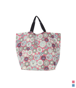 Peural large Shopper bag (* 2color) <br>