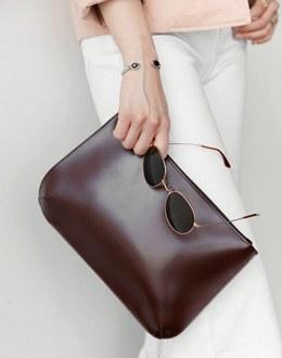Simple clutch bag (* 4color)