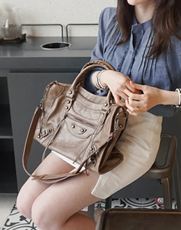 Travel diary bag (* 5color) <br>