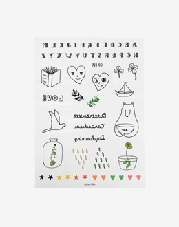 HOLIC TATTOO stickers (N-23)