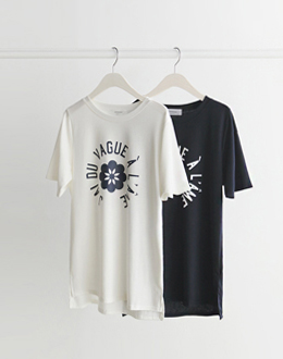 Alexa Chung t (* 2color) #Navy day delivery
