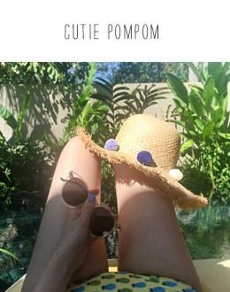 Cutie Pom hat