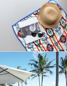 Ethnic beach towel (* 3color)