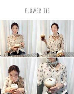 Flower Tie bl (* 3color)