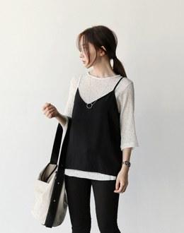 Roman dot vest (* 2color)