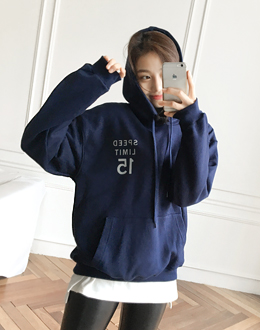 Daily hooded t (* 4color)