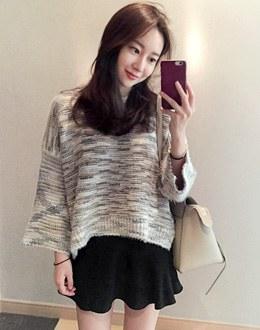 Cotton Candy knit (* 2color)