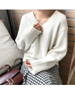 Milky angora knit (* 5color)