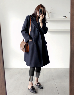 Double Wool coat (* 2color)