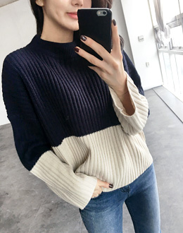 Corrugated color knit (* 4color) # same day shipping
