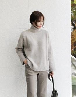 Tuel angora knit (* 5color)