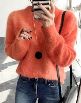Mingki angora knit (* 4color)
