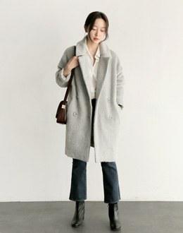 Vanilla bean coat (* 3color) # same day shipping