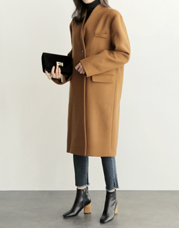 Caramel coat (* 2color)