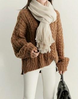 Volume kkwabegi knit (* 2color)