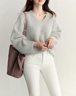 Cosy angora knit (* 3color) # same day shipping