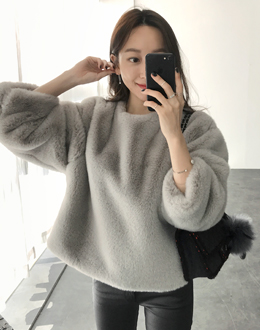Cozy Fur mtm (* 2color) # same day shipping