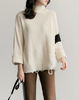 Long Light knit (* 3color)