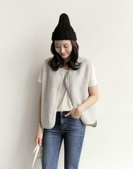 minimi vest (* 3color) # same day shipping
