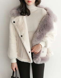 Fur color jp (* 2color) # same day shipping