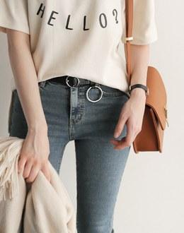 S O-ring belt (* 2color)