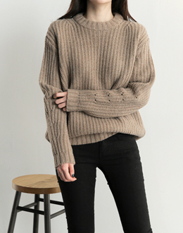 Coco Nissi knit (* 4color) # same day shipping