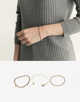 Claw ring set b (* 2color)