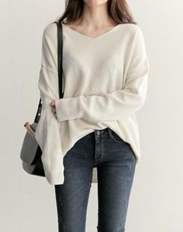 Curl points knit (* 4color)