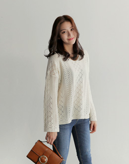 Willy Rove knit (* 3color)