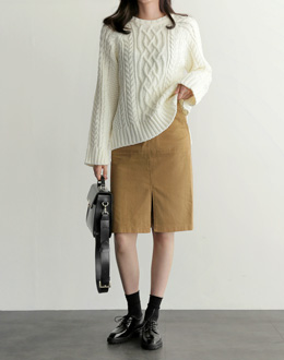 Ames PO knit (* 3color)