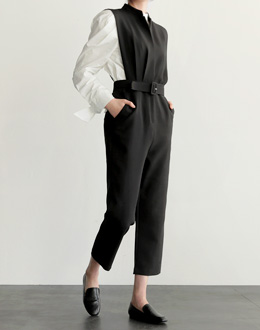 French Dip jump suit (* 3color)