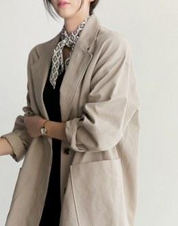Mae cast coat (* 3color)