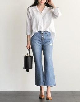 Slender pants