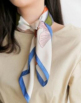Sickle la scarf (* 3color)