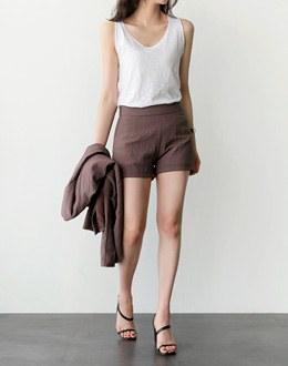 Dixie Sleeveless shirts (* 6color)