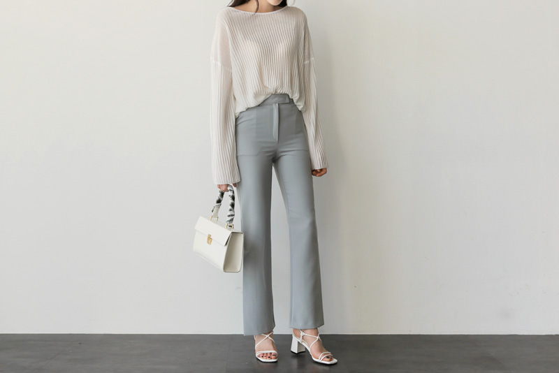 Loophine pants (* 3color)