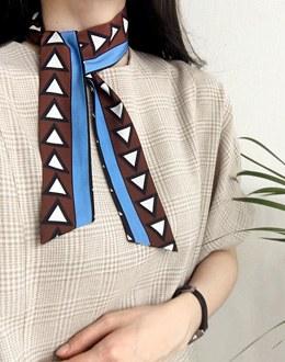 Polka scarf (* 3color)