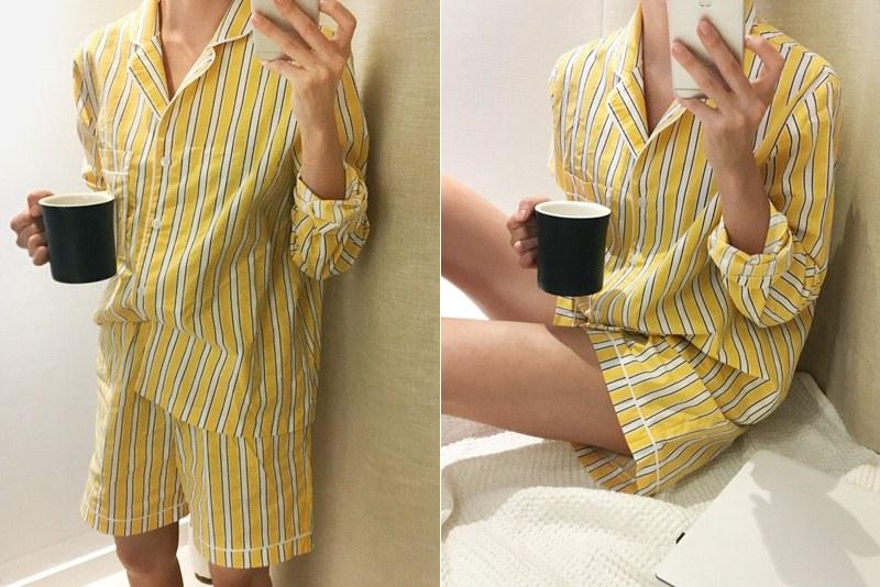 Stripe Pajamas (* 2color)