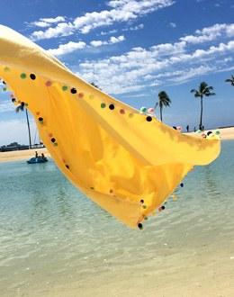 Sea bongbong beach towel (* 2color)