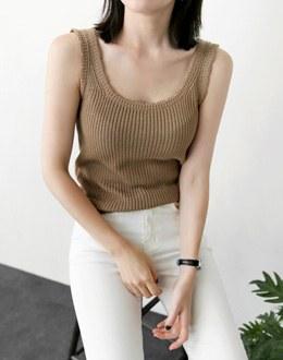 Zenzo Sleeveless shirts (* 5color)