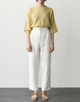 Fringe pants (* 3color)