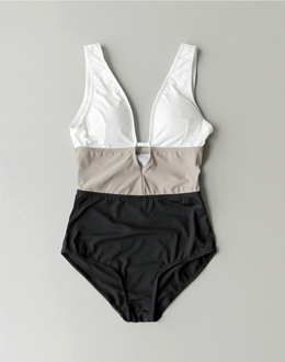 Color line bikini