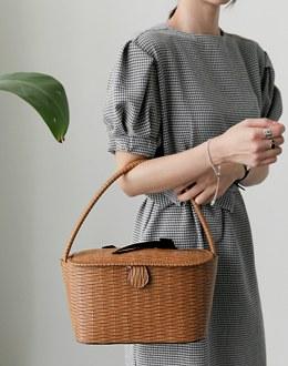 Twin ribbon bag (* 2color)