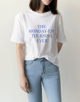 MONDAY EVER t (* 3color)