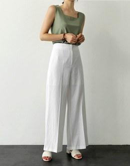 Pure wide pants (* 2color)