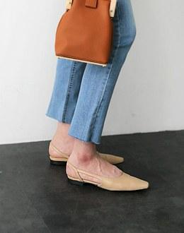 Autumn Slingback shoes (* 4color)
