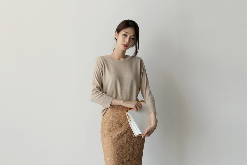 Megan knit (* 4color)