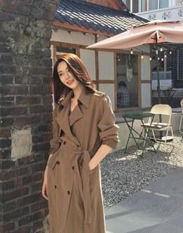 Khurvin coat (* 2color) #Dark beige same day delivery