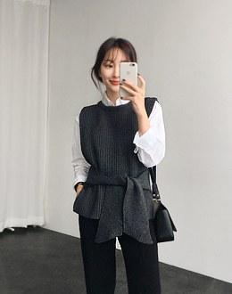 Strap vest (* 3color)