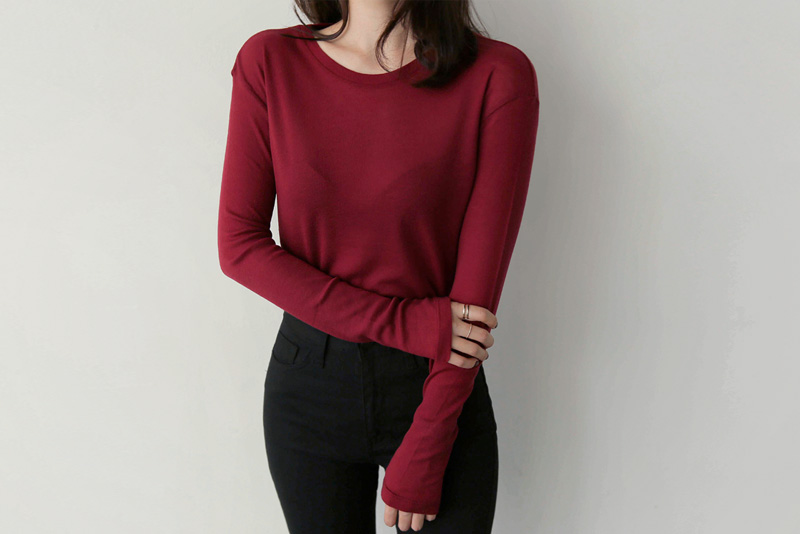 Wool Tencel t (* 5color)
